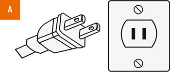 Stecker-Typ A