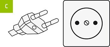 Stecker-Typ C
