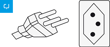 Stecker-Typ J